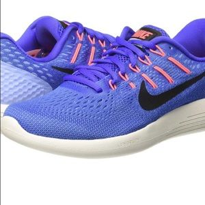 Like-New Nike Lunarglide 8 Mesh Lace-up Running